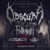 Obscura + Fallujah + Allegaeon + First Fragment (Barcelona)