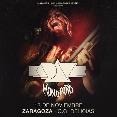 Kadavar + Monolord (Zaragoza)