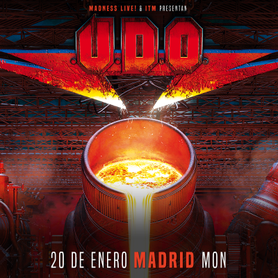U.D.O. + Red Partizan + Dead City Ruins (Madrid)