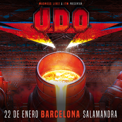 U.D.O. + Red Partizan + Dead City Ruins (Barcelona)