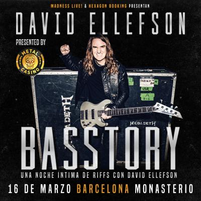 Basstory: David Ellefson (Barcelona)