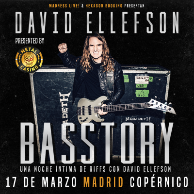 Basstory: David Ellefson (Madrid)