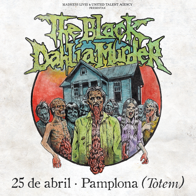The Black Dahlia Murder + Virvum (Villava)