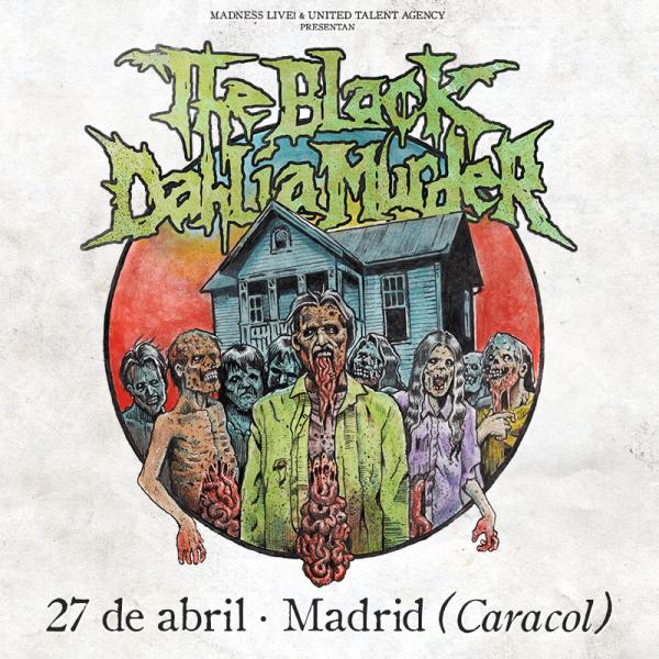 The Black Dahlia Murder (Madrid)