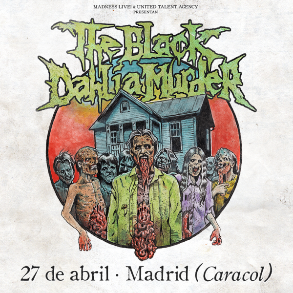 The Black Dahlia Murder (Madrid)