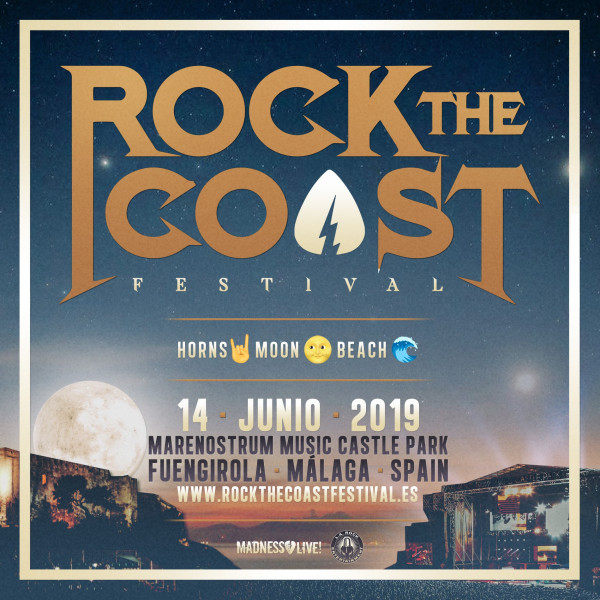 14 Junio Rock The Coast 2019 (Málaga)