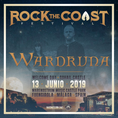 Wardruna 13 Junio Rock The Coast 2019 (Málaga)