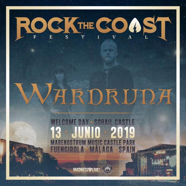 Wardruna 13 Junio Rock The Coast 2019 (Málaga)