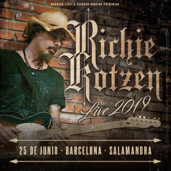 Richie Kotzen (Barcelona)