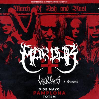 Marduk + Valkyrja + Attic (Pamplona)