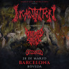 Incantation + Defeated Sanity + Skinned (Barcelona)