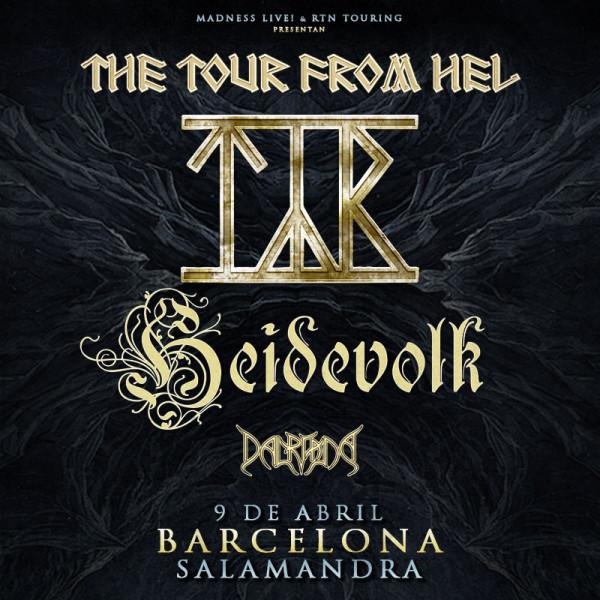 Týr + Heidevolk + Dalriada (Barcelona)