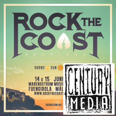 CD Century Media + Abono Rock The Coast 2019 (Málaga)