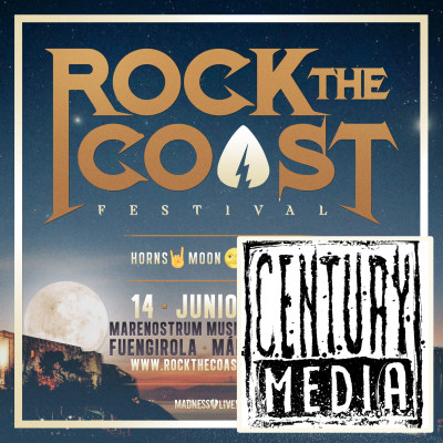 CD Century Media + 14 Junio Rock The Coast 2019 (Málaga)