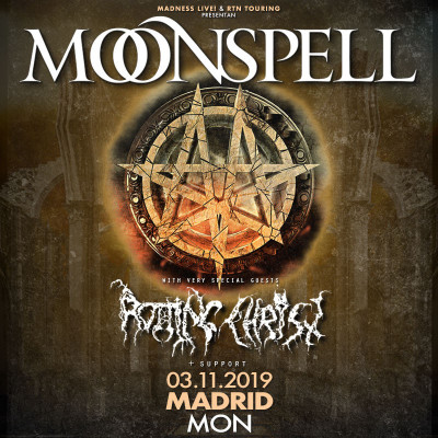 Moonspell + Rotting Christ (Madrid)