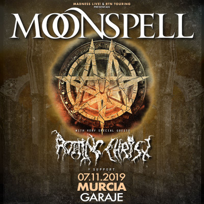 Moonspell + Rotting Christ (Murcia)