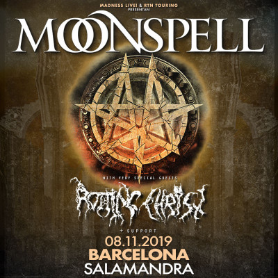 Moonspell + Rotting Christ (Barcelona)