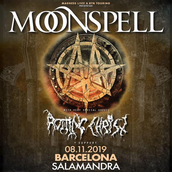 Moonspell + Rotting Christ (Barcelona)