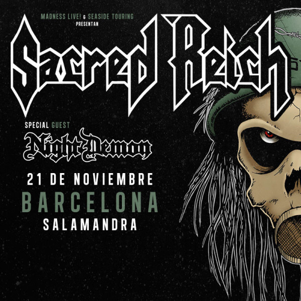 Sacred Reich + Night Demon (Barcelona)