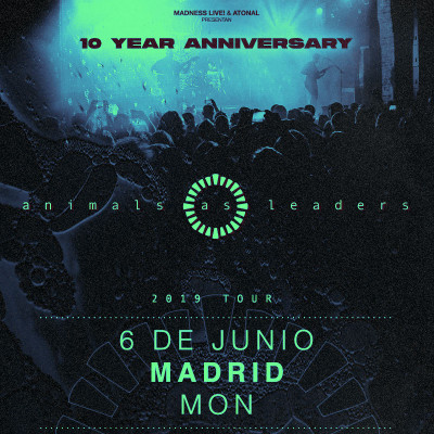 Animals As Leaders (Madrid)
