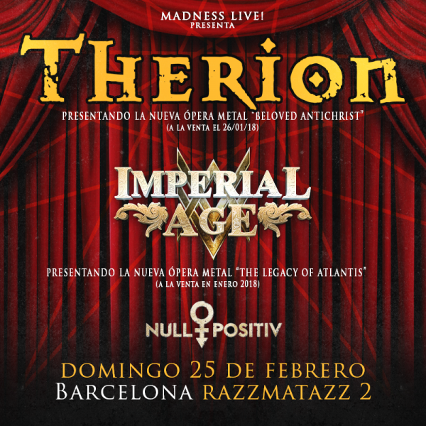 Therion + Imperial Age (Barcelona)