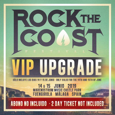 VIP Upgrade Rock The Coast 2019 (Málaga)