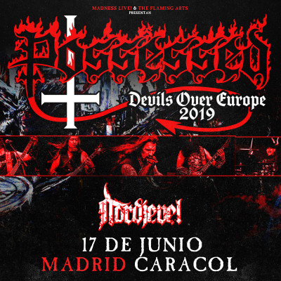 Possessed + Nordjevel (Madrid)