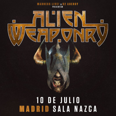 Alien Weaponry + Rise To Fall (Madrid)
