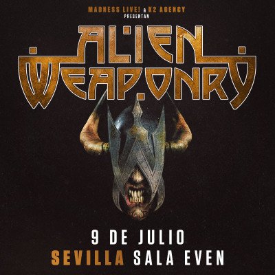 Alien Weaponry + Rise To Fall (Sevilla)