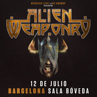 Alien Weaponry + Rise To Fall (Barcelona)