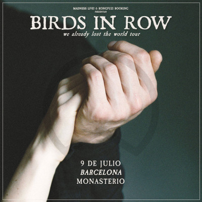 Birds in Row + Tano! (Barcelona)