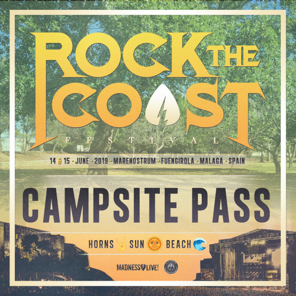 Camping Pass Rock The Coast 2019