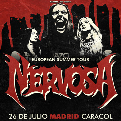 Nervosa + Bloodhunter (Madrid)