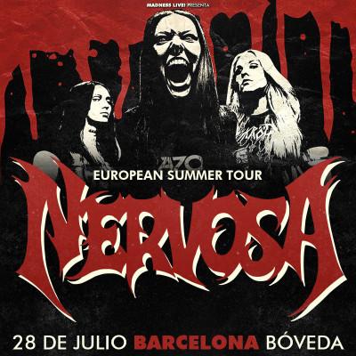 Nervosa + Bloodhunter (Barcelona)