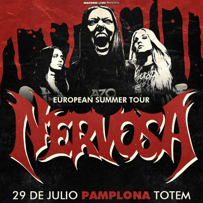 Nervosa + Bloodhunter (Pamplona)