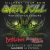 Overkill + Destruction + Flotsam and Jetsam (Madrid