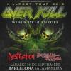 Overkill + Destruction + Flotsam and Jetsam (Barcelona)
