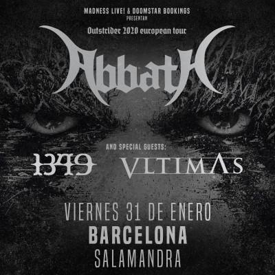 Abbath + 1349 + Vltimas (Barcelona)