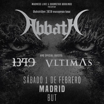 Abbath + 1349 + Vltimas (Madrid)