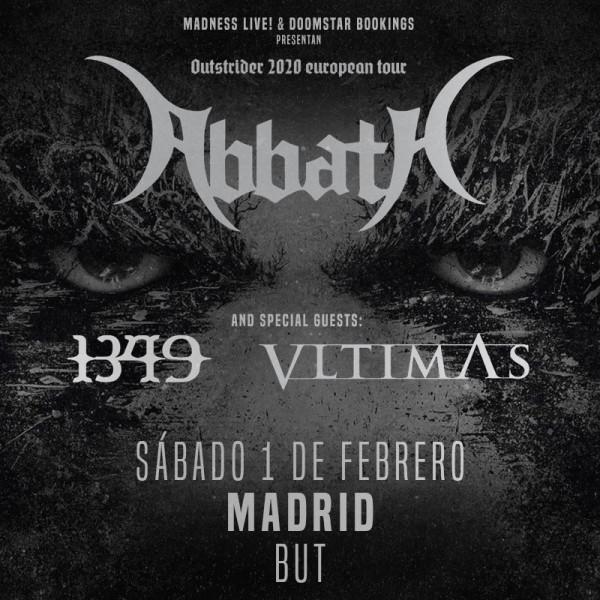 Abbath + 1349 + Vltimas (Madrid)