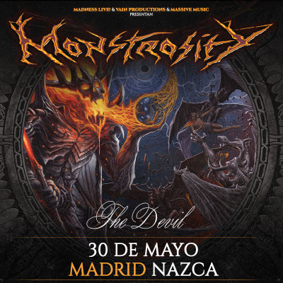Monstrosity + The Devil + Tromort (Madrid)