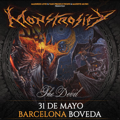 Monstrosity + The Devil + Silence Equals Death (Barcelona)