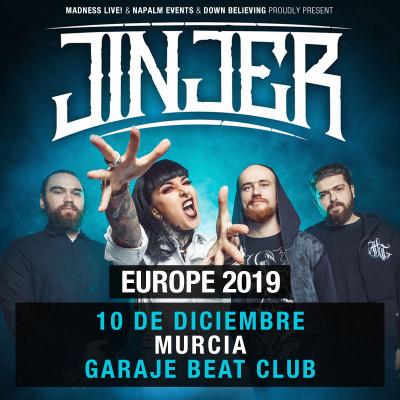 Jinjer + The Agonist (Murcia)