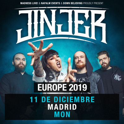 Jinjer + The Agonist (Madrid)