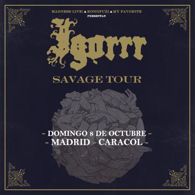 Igorrr (Madrid)