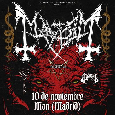 Mayhem + Gaahls Wyrd + Gost (Madrid)