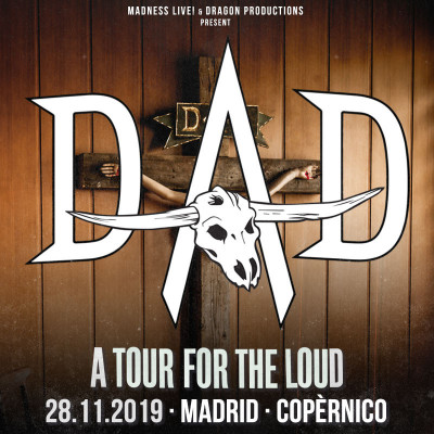 D-A-D + Hangarvain (Madrid)