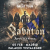 Sabaton + Apocalyptica + Amaranthe (Madrid) PISTA