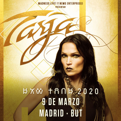 Tarja + Temperance + Serpentyne (Madrid)