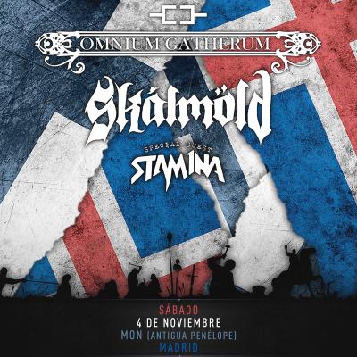 Omnium Gatherum + Skálmöld + Stam1na (Madrid)